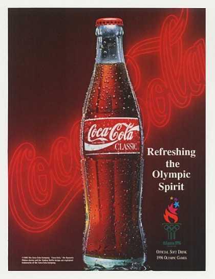 Logotipo de Coca Cola 1980