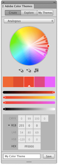 Indesign cc 2015 selector de colores
