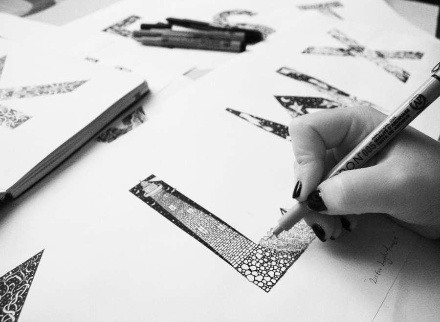 Tipografias Ilustradas