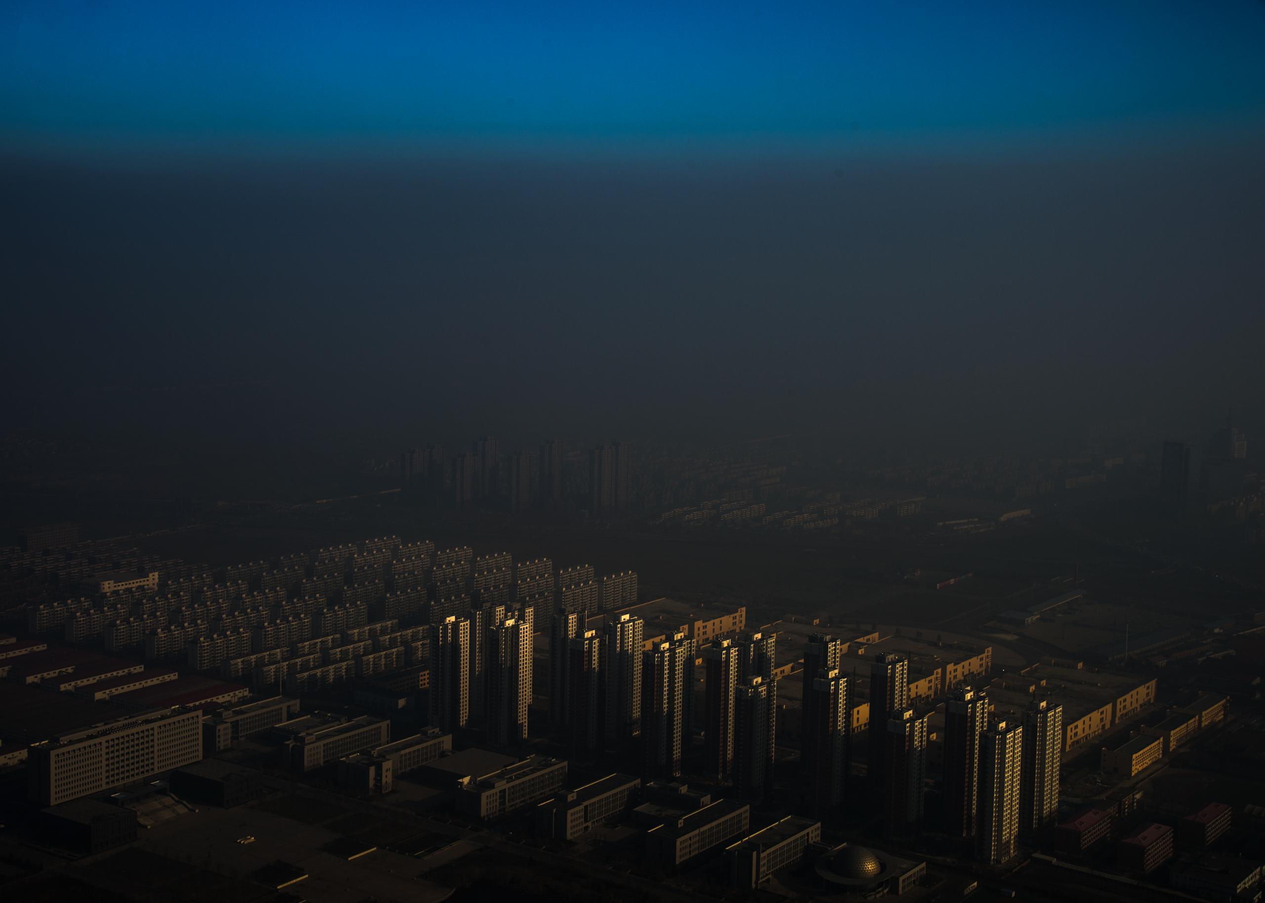 Word press photo - Haze in China