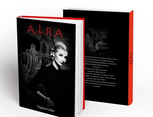 Portada editorial para libro A.T.R.A