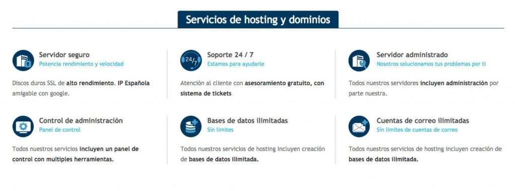 Hosting y dominios Zamora