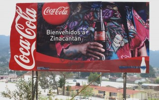 Cartel de coca cola 2006