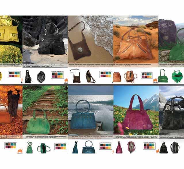 Catálogo de bolsos de piel