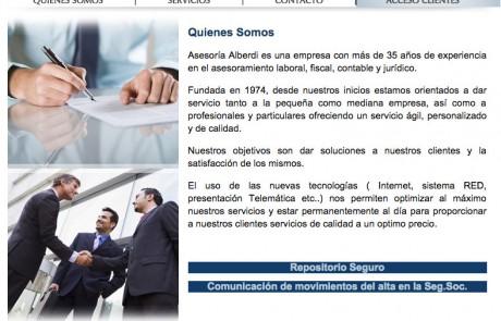 diseño de web para asesores