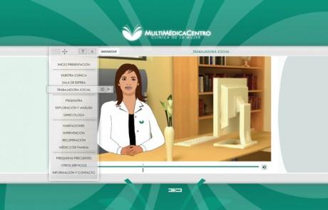 diseño pagina web para clinica