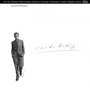 diseño de pagina web para escritor