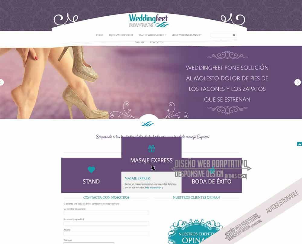 diseno de pagina web para bodas