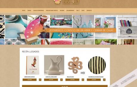 P ginas web bluefactory studios for Articulos para el hogar online