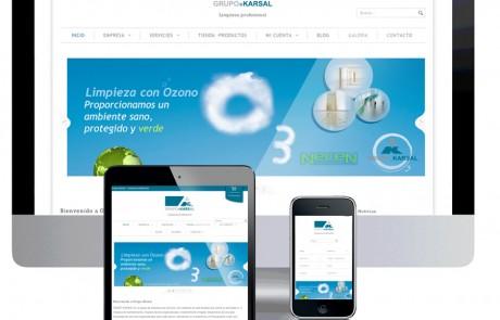 pagina web para empresa de limpieza