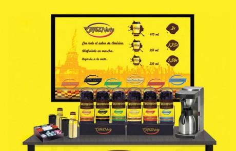 Diseño de Stand para Cafe&nuts