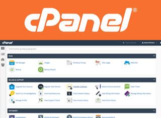 Panel administración del hosting