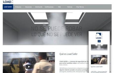 Load Safer página web responsive