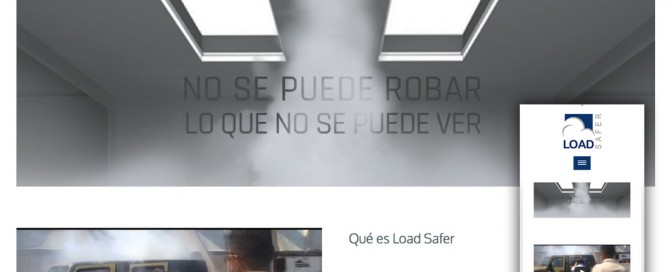 Load Safer página web responsive