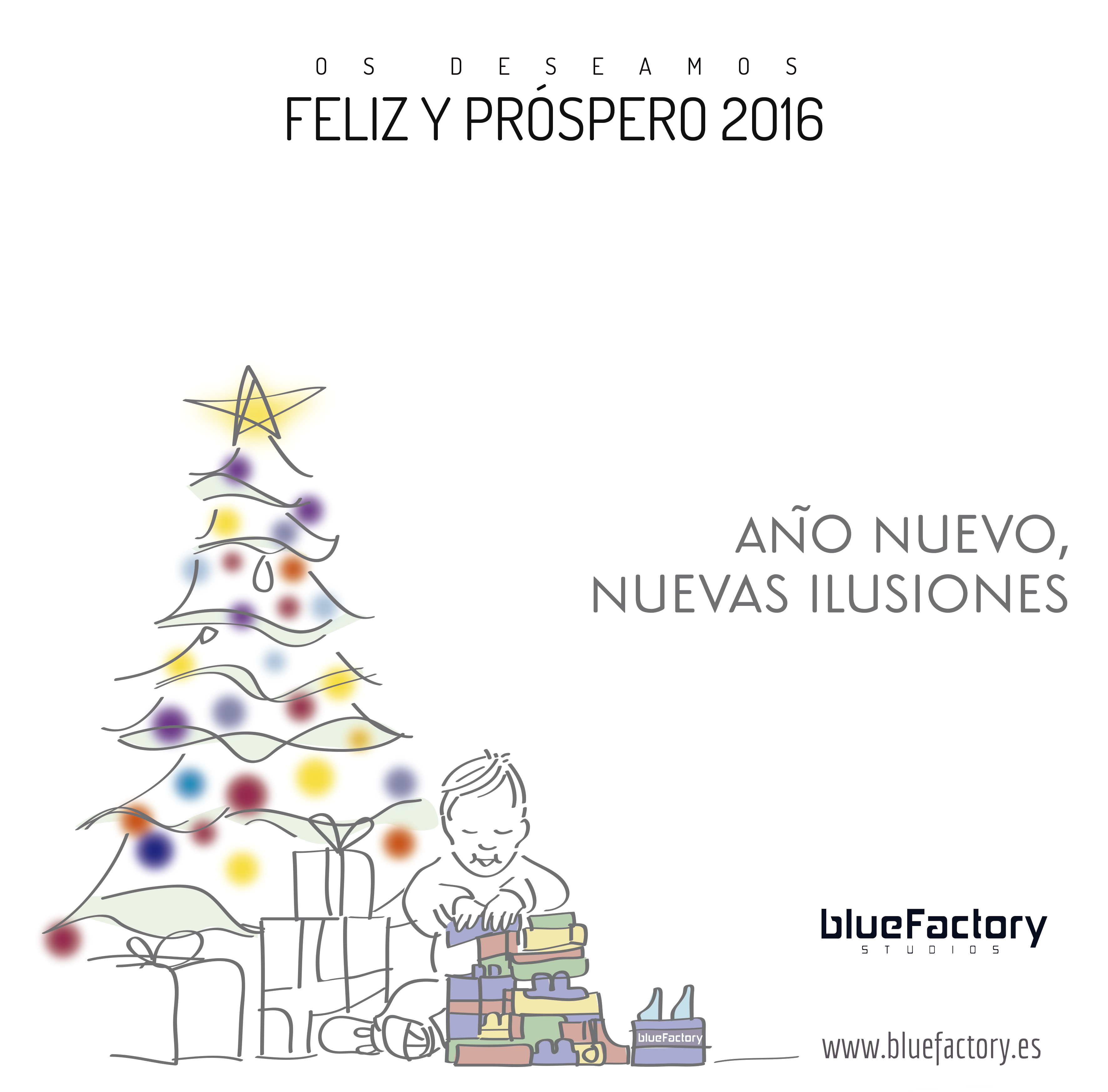 Bluefactory Studios les desea una feliz Navidad