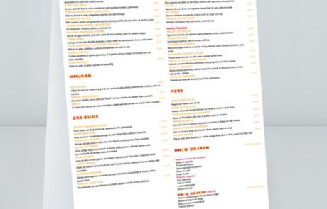 Expositor para gastrobar restaurante Kandara