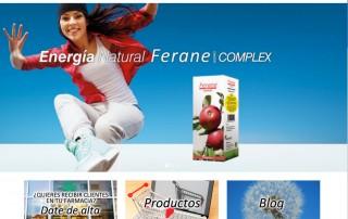 Diseño página web farmacia