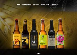 Página web con tienda online bodega