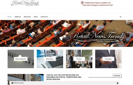 Página web para Retail News Trends