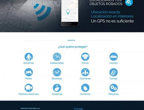 Diseño de página web para empresa de seguridad
